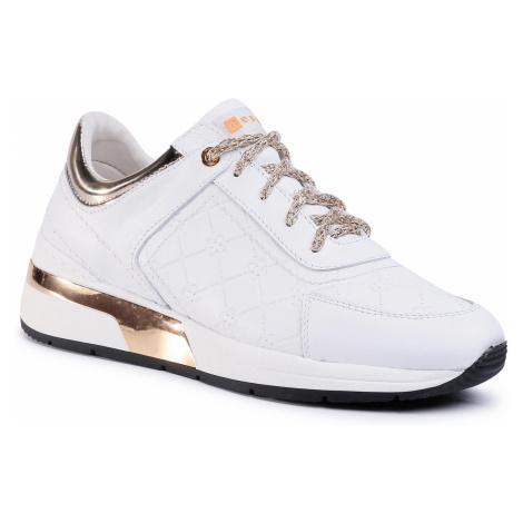 Sneakersy NESSI - 20706 Biały/Złoto