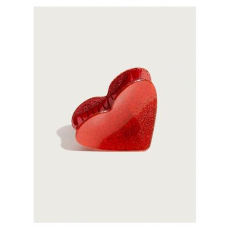 Pico for EDITED Biżuteria do włosów 'Heart' czerwony