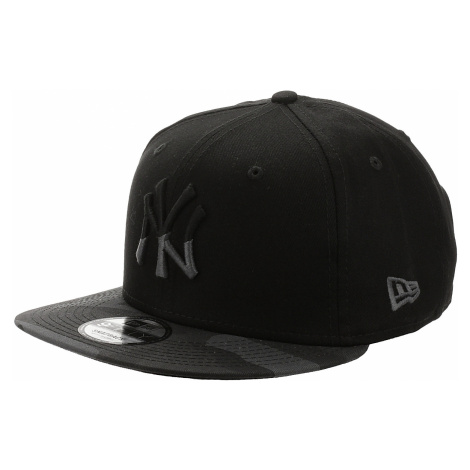 czapka z daszkiem New Era 9FI Camo Essential MLB New York Yankees - Black/Midnight Camo