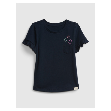 GAP niebieski dziewczęce koszulka