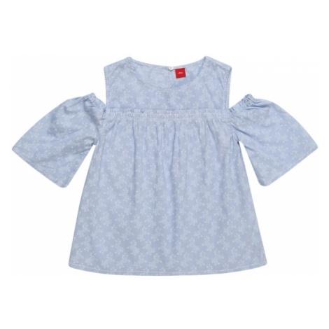S.Oliver Junior Bluzka jasnoniebieski / biały