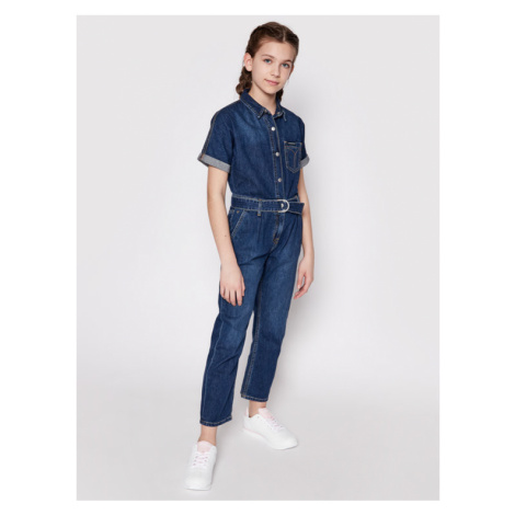 Calvin Klein Jeans Kombinezon IG0IG00845 Granatowy Regular Fit