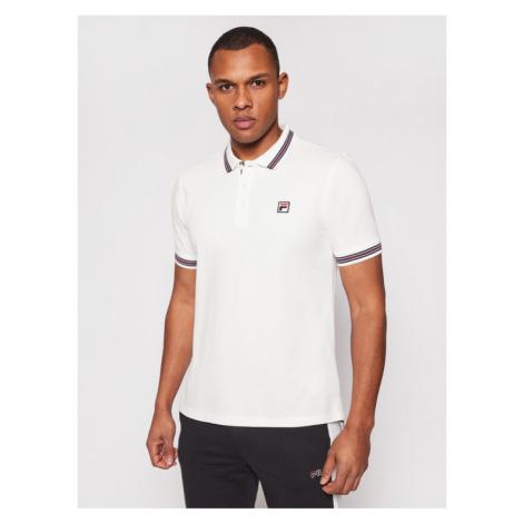 Fila Polo Matcho 687656 Biały Regular Fit