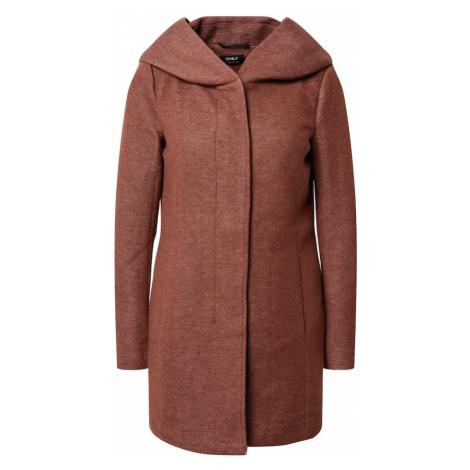 ONLY Płaszcz przejściowy nakrapiany brązowy