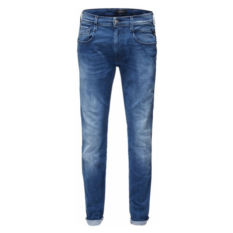 REPLAY Jeansy 'HYPERFLEX' niebieski denim