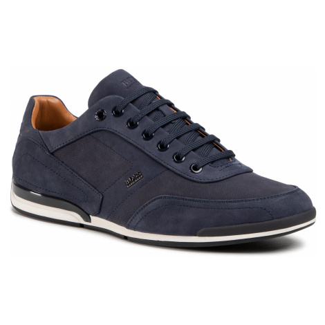Sneakersy BOSS - Saturn 50445685 10214613 01 Dark Blue 401 Hugo Boss