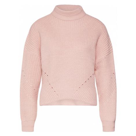 ONLY Sweter 'RILEY' różowy pudrowy