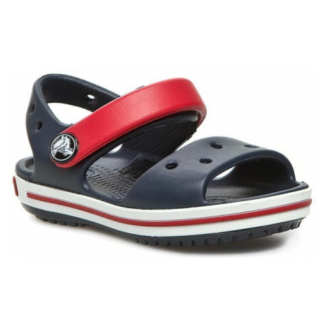 Sandały CROCS - Crocband Sandal Kids 12856 Navy/Red
