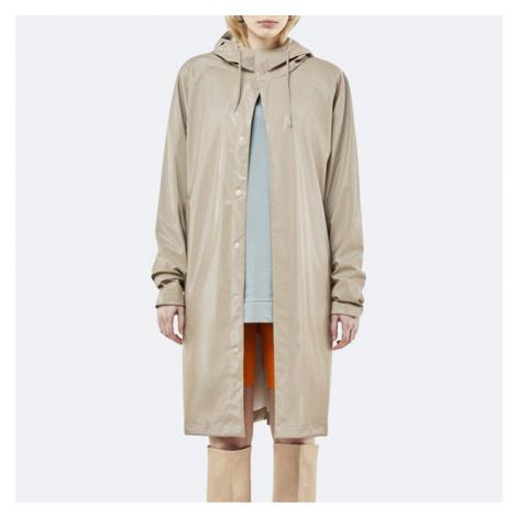 Płaszcz damski Rains Coat 1256 SHINY BEIGE