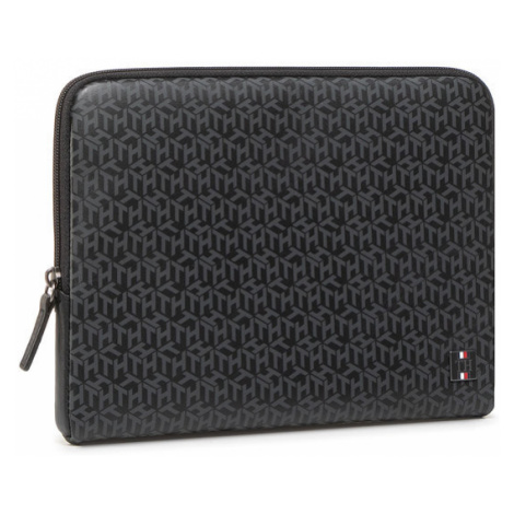 Tommy Hilfiger Etui na iPada Th Monogram Tablet Sleeve AM0AM06724 Czarny