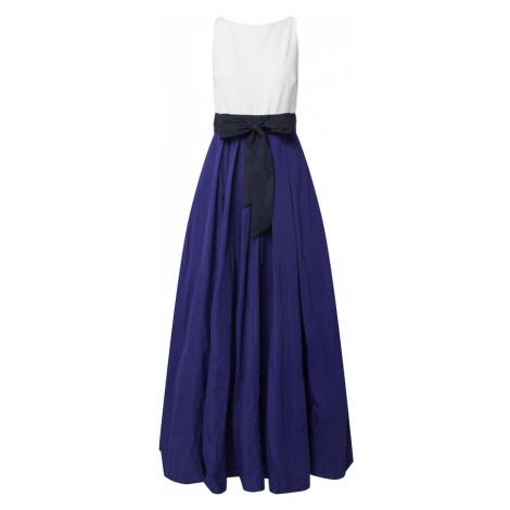 Lauren Ralph Lauren Suknia wieczorowa biały / granatowy