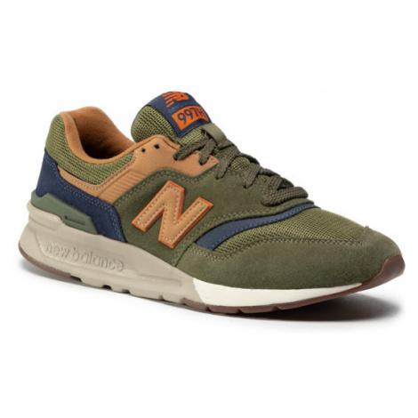 New Balance Sneakersy CM997HFU Zielony
