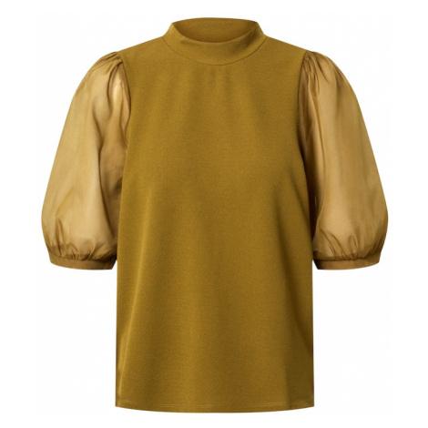 VERO MODA Koszulka 'CORAL' oliwkowy