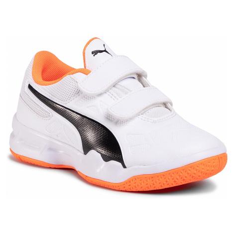 Sneakersy PUMA - Tenaz V Jr 104891 02 White/Black/Orange