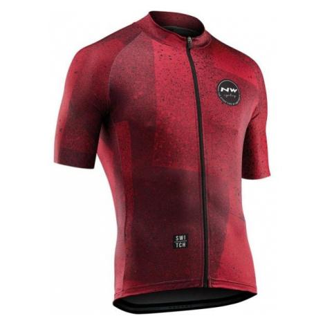 Northwave ABSTRACT czerwony 3XL - Koszulka rowerowa męska North Wave
