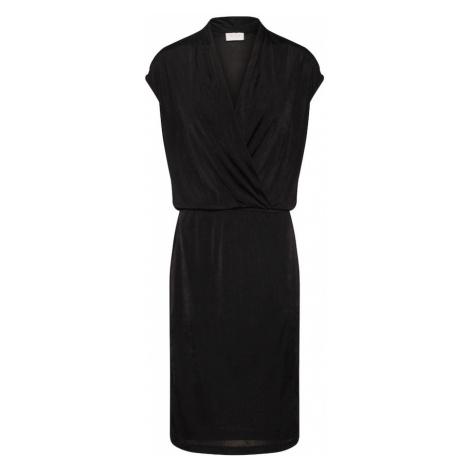 VILA Sukienka 'VISATINAS S/L DRESS' czarny