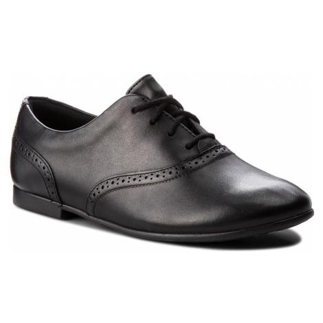 Półbuty CLARKS - Jules Walk 261346836 Black Leather 1