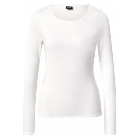S.Oliver BLACK LABEL Sweter biały