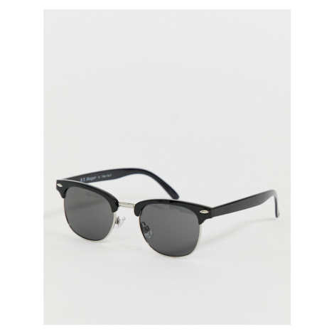 AJ Morgan retro sunglasses in black