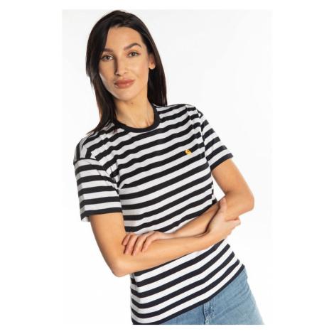 Koszulka Carhartt Wip W' S/s Scotty T-Shirt 1Cst Dark Navy/white