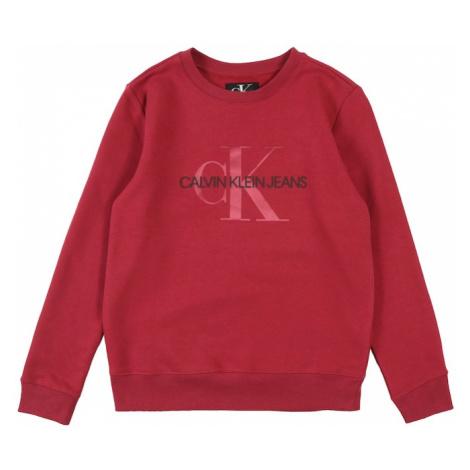 Calvin Klein Jeans Bluzka sportowa czerwono fioletowy