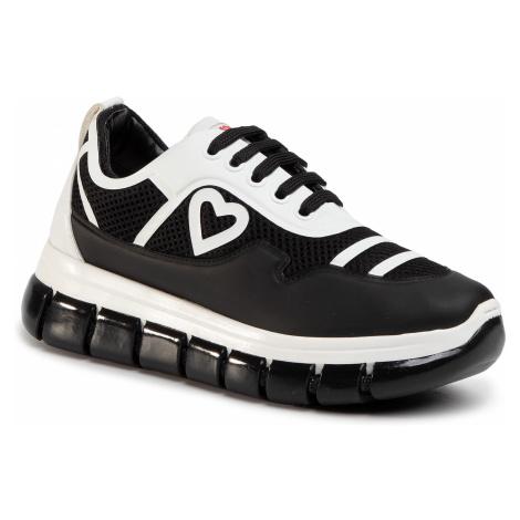 Sneakersy LOVE MOSCHINO - JA15225G0AJS100A Nero/Vit. Bianco