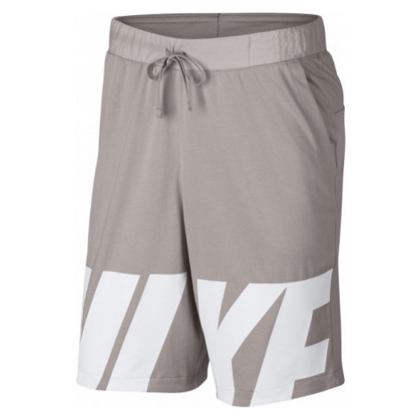 Nike SPORTSWEAR HYBRID beżowy S - Spodenki męskie