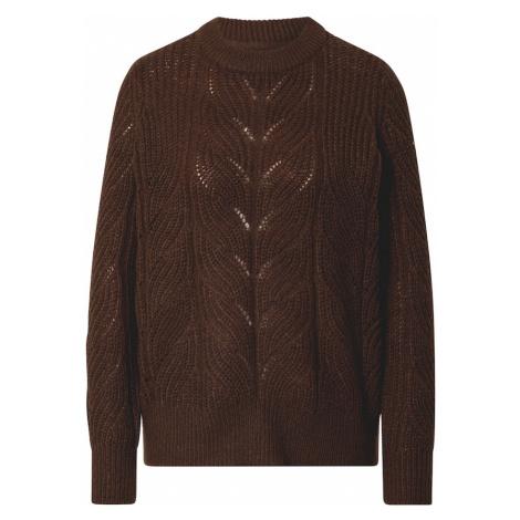 OBJECT Sweter brązowy