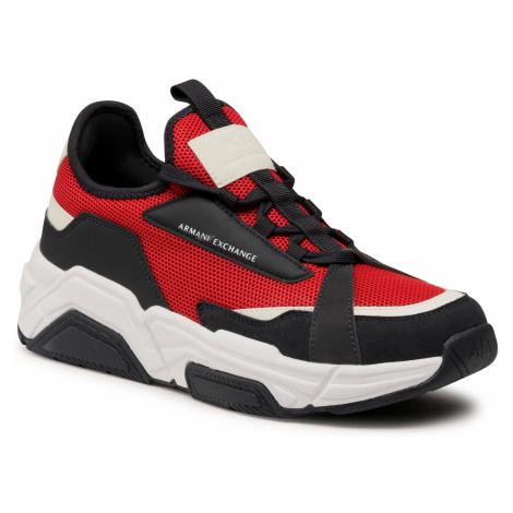 Sneakersy ARMANI EXCHANGE - XUX065 XV259 D286 Red Rubin/Navy
