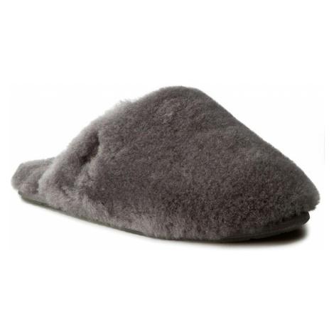 Kapcie UGG - W Fluff Clog 1005564 W/Gry