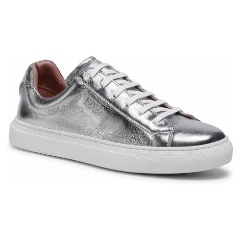 Sneakersy BOSS - Katie 50435191 10226223 01 Silver 042 Hugo Boss