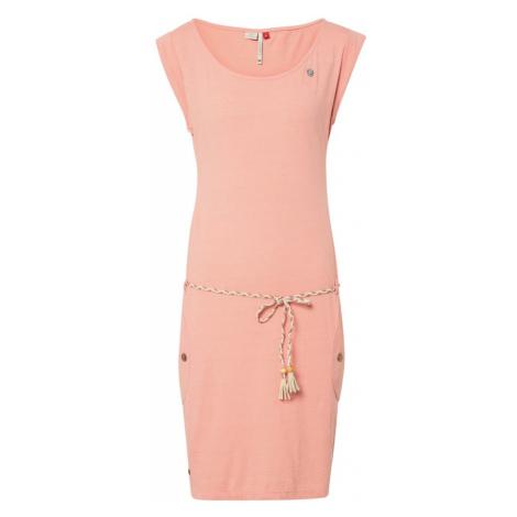 Ragwear Sukienka 'TAG' brzoskwiniowy