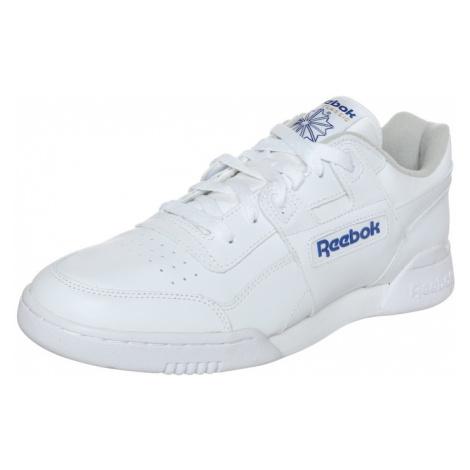 Reebok Classic Trampki niskie 'Workout Plus' niebieski / biały