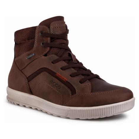 Sneakersy ECCO - Ennio GORE-TEX 53430451869 Coffee/Coffee