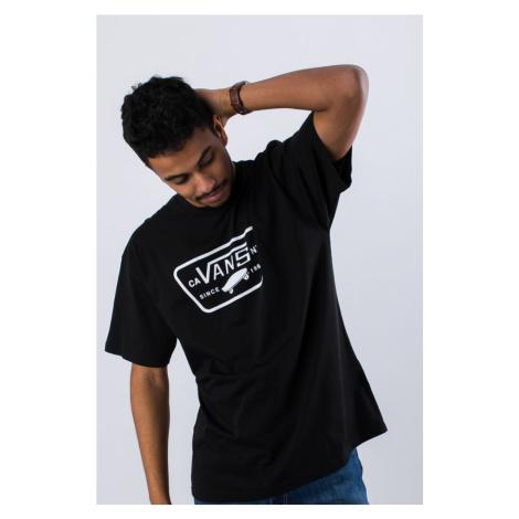 Koszulka Vans Mn Full Patch Black/white Vn000Qn8Y281 Black/white