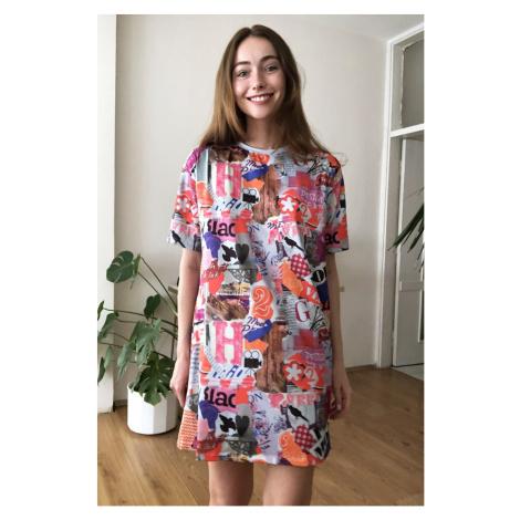 Women's dress Trendyol Printed