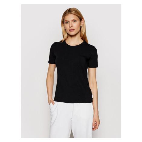 Max Mara Leisure T-Shirt Vagare 39710116 Czarny Regular Fit
