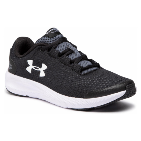 Buty UNDER ARMOUR - Ua Gs Charged Pursuit 2 3022860-001 Blk