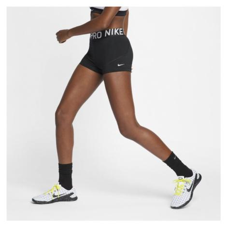 Spodenki damskie Nike Pro 8 cm - Czerń