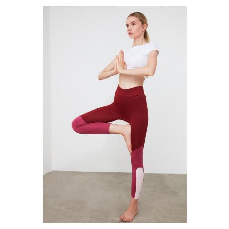 Women's leggings Trendyol Color Block Sports