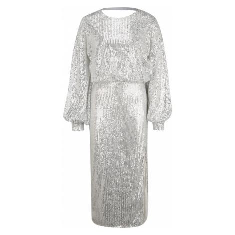 Missguided (Tall) Sukienka srebrny