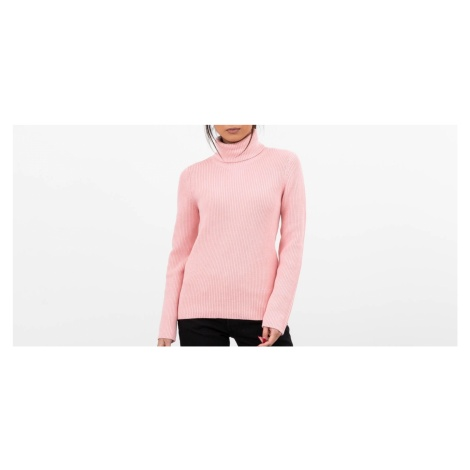SELECTED Ellie Long Sleeve Knit Rollneck Powder Pink