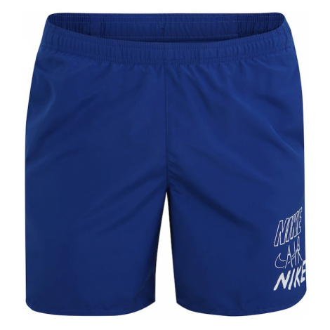 NIKE Spodnie sportowe 'Challenger' niebieski