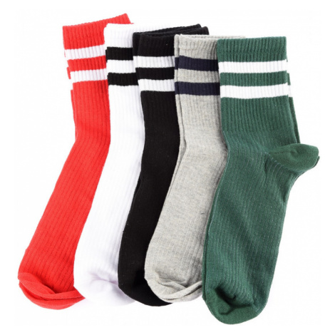 Trendyol Multi-Colored Men 5 Pack Ribbon Socket Socks