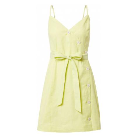 Banana Republic Letnia sukienka limonka
