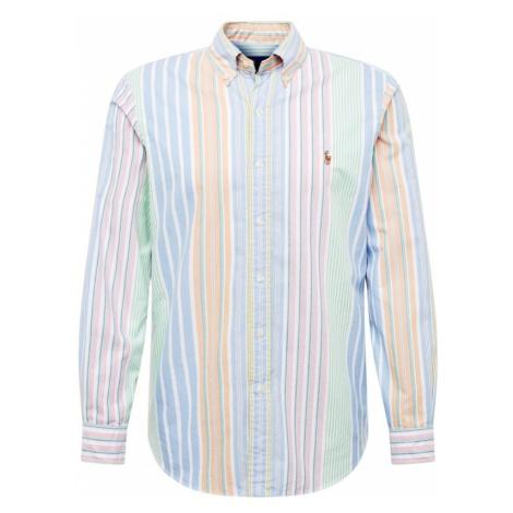 POLO RALPH LAUREN Koszula 'BD PPC SPT-LONG SLEEVE-SPORT SHIRT' niebieski / jasnozielony / jasnop