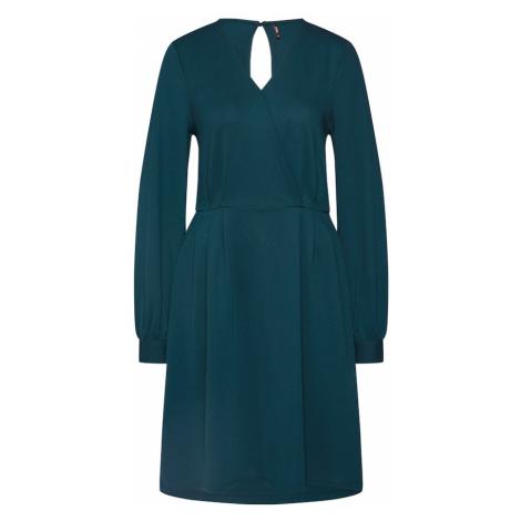ONLY Sukienka 'onlmonna l/s DRESS JRS' ciemnozielony