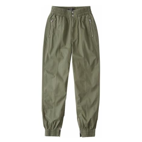 Abercrombie & Fitch Spodnie oliwkowy