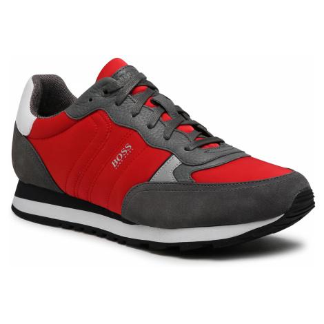 Sneakersy BOSS - Parkour Runn 50445688 10232529 01 Open Red 640 Hugo Boss