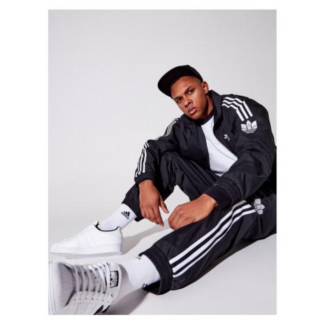 Adidas Bluza adicolor 3D Trefoil 3-Stripes GN3535 Czarny Regular Fit